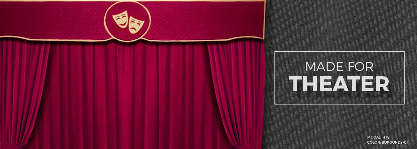 Decorative Velvet Curtains Stage Curtains Home Theater