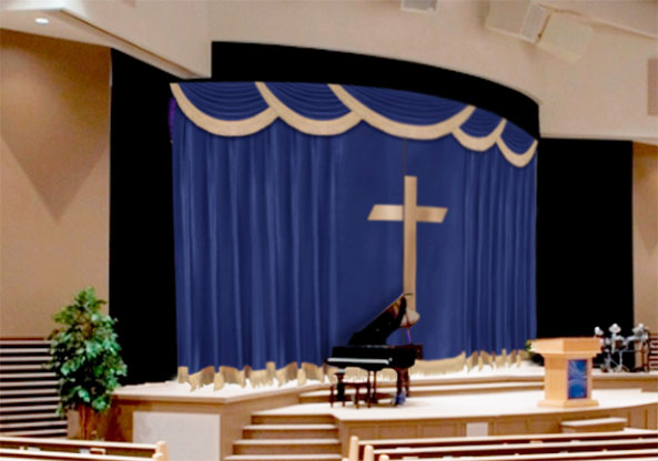 Church Curtains Decorations - Curtains Design Gallery