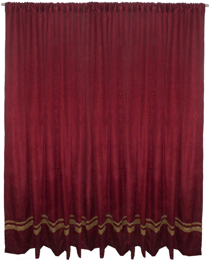 premium panels panel backdrop cur organza voil retardant x fire curtain gold products sheer collection curtains