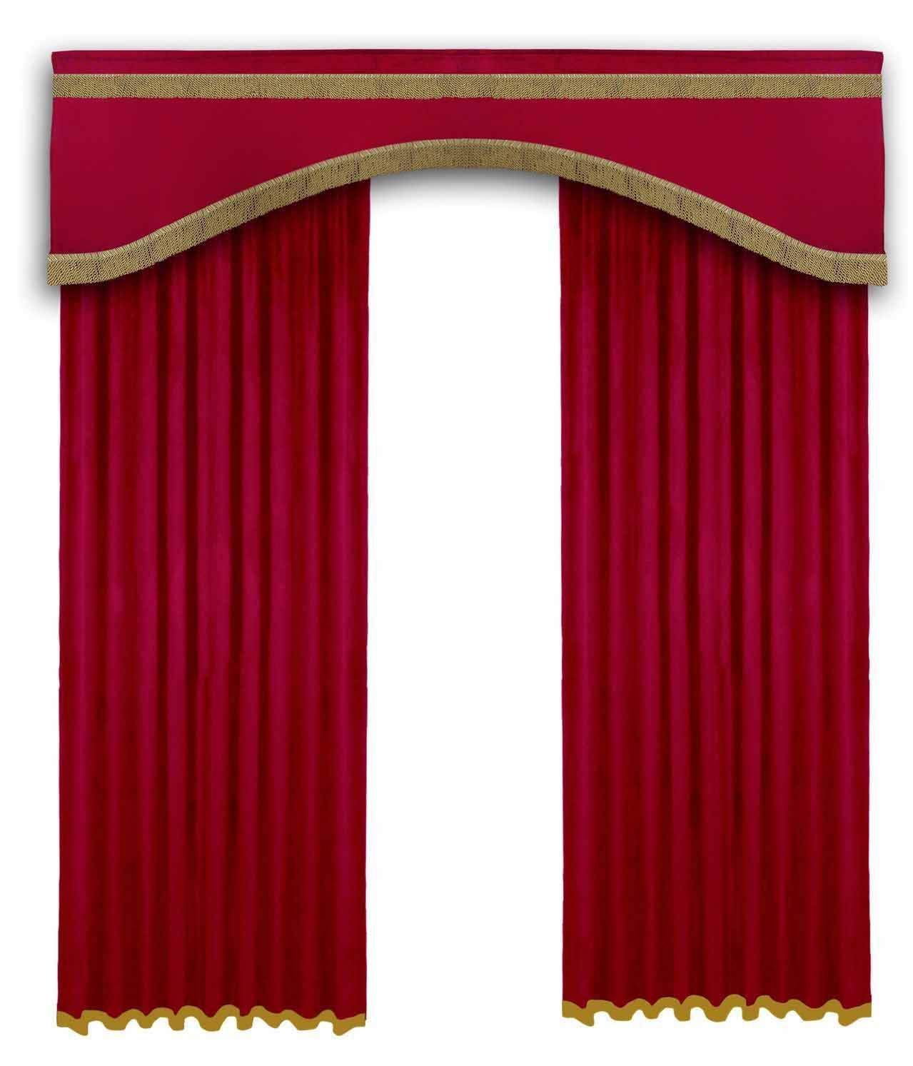 Home theater curtains motorized - Velvet Curtains Home Theater Stage Curtains Panels And