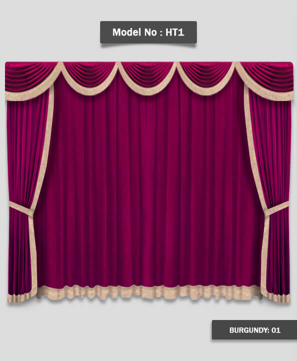 Curtains For Church Stage Model HT1
