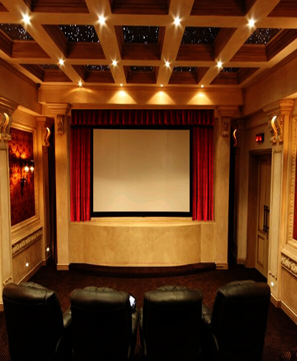 Home Theater Curtain Model Ss2